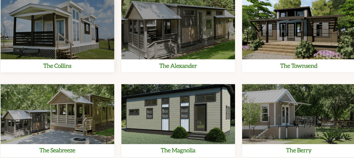 Compact Cottages